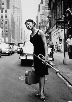 Yourna Byrd, wife of jazz trumpet player Donald Byrd, photographed in 1960 by William Claxton