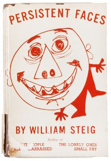 William Steig, Persistent Faces, [New York]: Duell, Sloan & Pearce, 1945.