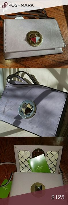 NWT Kate Spade Newbury Lane Sally Lilac Bliss Brand New Kate Spade Newbury Lane Sally Lilac Bliss Crossbody is the perfect companion for you when traveling this winter to the tropics, then come home in the Spring and Enjoy all Season. 💗  Proof of purchase available. Kate Spade Bags Crossbody Bags