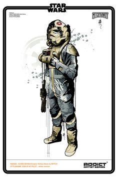 Star Wars Tees  Created by Mitchy Bwoy