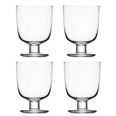 Lempi lasi, kirkas, 4 kpl