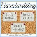 Handwriting: Should we still teach it?