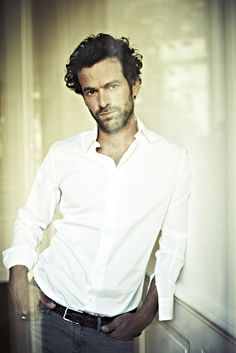 "romain duris - I'm a fan! - I didn't dare to pin him to my wishlist, so all I found was ""fashion"" ;-)"