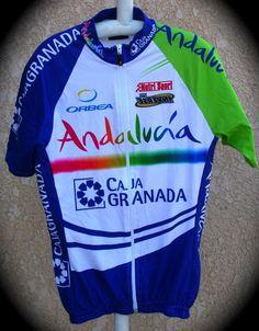 Maillot de l'équipe Andalucia - Par Yannick