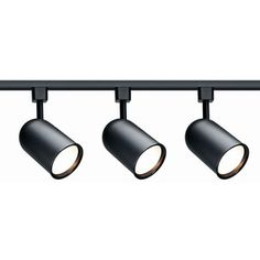 Bullet Track Lighting Kit Black now featured on Fab.