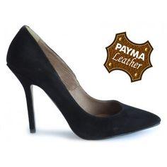 Stiletto ante negro 49,90€  www.calzadospayma.com