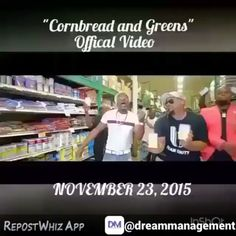 """@Regrann from @officialnewcupid -  By @dreammanagement via @RepostWhiz app: #MusicMonday @officialnewcupid -  NEW VIDEO """"CORNBREAD and GREENS"""" CLICK HERE!!! http://youtu.be/x1yxiraCOI4 the Man who brought you Cupid Shuffle @officialnewcupid #CornbreadAndGreens #blues #downhomeblues #Country #southernsoul #thanksgivingwithblackfamilies #soulfood #ThanksGIVING #CornBread #collardgreens (#RepostWhiz app) #Regrann"""