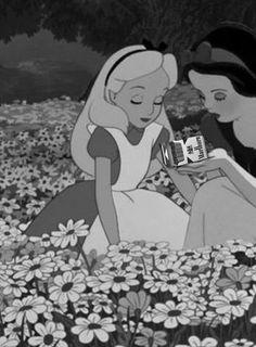 It´s SnowWhite´s fault! Dark Disney, Cute Disney, Disney Art, Alice Disney, Funny Disney Memes, Disney Jokes, Images Disney, Twisted Disney, Cartoon Profile Pictures