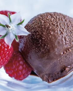 Low FODMAP and Gluten Free, Dark Chocolate Sorbet http://www.ibssano.com/low_fodmap_chocolate_sorbet.html