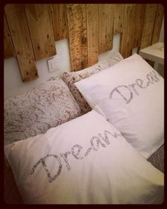 Dream ✨ Bed Pillows, Pillow Cases, Dreams, Pillows