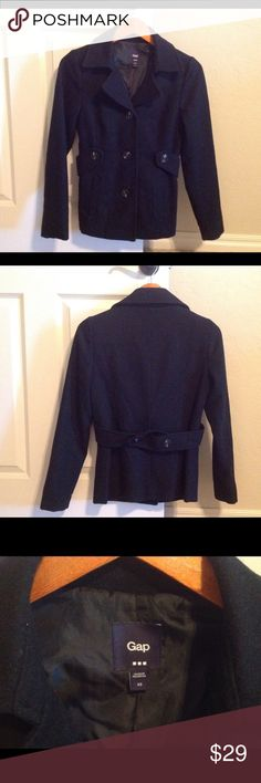 GAP pea coat In great condition. Lined. Been dry cleaned. GAP Jackets & Coats Pea Coats