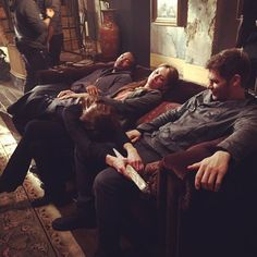 """Riley Voelkel on Instagram: """"Grab a spot on the couch for tonight's episode of #TheOriginals on @thecw ... Will I make it out alive? ❤️ #Freya"""""""