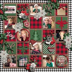 Created using: Scrap the Halls Vol. 3 by Meagans Creations www. Kit used: Tis the season by Meagans creations re-releasing at Sweetshoppe Scrapbook Disney, Paper Bag Scrapbook, Baby Scrapbook, Scrapbook Supplies, Scrapbook Cards, Birthday Scrapbook Pages, Scrapbook Templates, Scrapbook Designs, Scrapbook Sketches