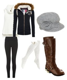 """""""Untitled #173"""" by mwheelwright on Polyvore featuring White House Black Market, Superdry, Steve Madden, Beston and Nine West"""