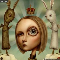 Creative Paintings by Naoto Hattori | Cuded