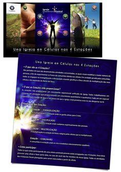 """FOLDER •Campanha 2010 """"Uma Igreja nas 4 Estações"""" - conceito + materiais da campanha    Igreja Presbiteriana Central de Londrina    2010 • Londrina/PR"""