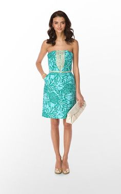 Lilly Pulitzer Bloomy Dress - $228   how great would this be for my trip to Hawaii this summer?!