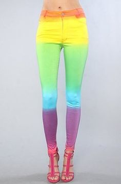 COLORFUL SKINNY JEANS!