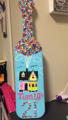 21st Up Sorority Paddle for my Big!