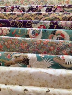New oriental fabrics at Magic Patch Quilting!