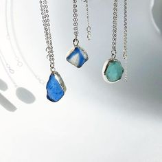 present simple ( Sea Glass Necklace, Pendant Necklace, Drop Earrings, Photo And Video, Simple, Videos, Photos, Instagram, Jewelry