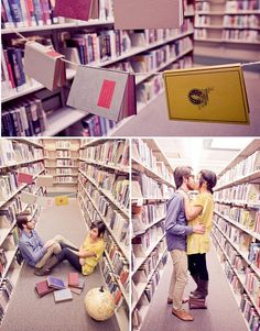 Oh my goodness. So cute. Definitely need to take pics like this with my librarian.