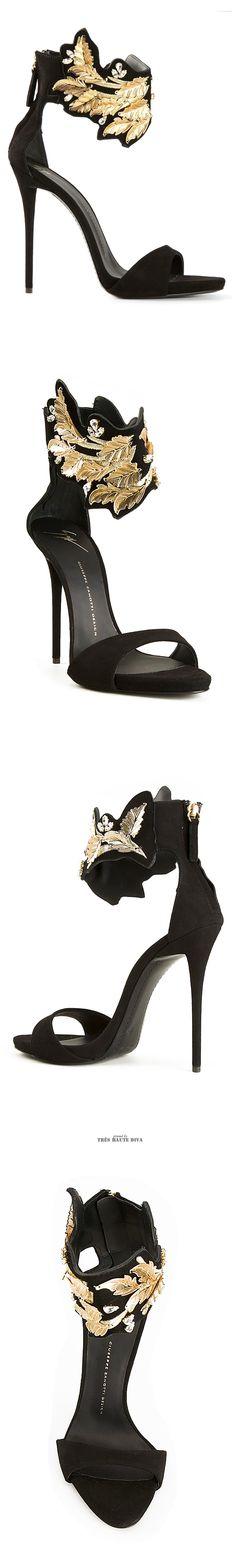 Giuseppe Zanotti  Leaf Detail Sandals ♔THD♔
