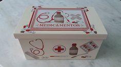 Caixa remédio www.elo7.com.br/esterartes