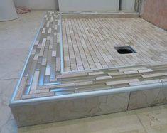20 Tile Edge Trim Ideas Shower Curb Bathroom Shower Design Tile Edge Trim