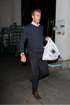 Casual-friday, David Beckham