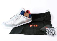 c26cff0efa7fa Adidas Y3 Yohji Yamamoto Silver Blue Red Tan Size 14 Shoes (Kazuhiri)   fashion  clothing  shoes  accessories  mensshoes  athleticshoes (ebay link)