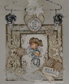 Monique Lokhorst Designs: Sweet Chirstmas Greetings from Tilda.