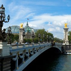 In addition to seeing architectural marvels like the Louvre, the Eiffel Tower and Notre Dame cathedral, the Seine river has 37 picturesque bridges in Paris alone!