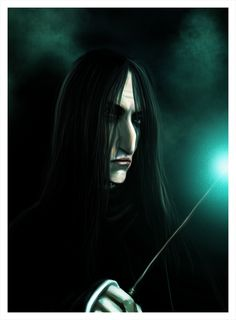 Reveal your secrets by Patilda on deviantART Professor Severus Snape, Severus Rogue, Harry Potter Fan Art, Harry Potter Characters, Slytherin Pride, Hogwarts, Snape And Lily, Ministry Of Magic, Lily Evans