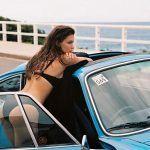 Classic Cars And Girls Woman Beautiful 19