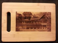 Custom engraved cutting board for Christi from 3DCarving on Etsy