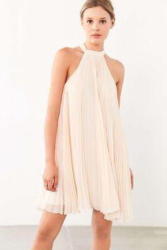Keepsake Clarity Baby Pleat Mini Dress