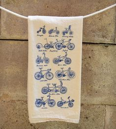 Cycles of Life Dish Towel | Home Kitchen & Pantry | Kite Flying Society | Scoutmob Shoppe | Product Detail