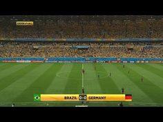 Los goles de Alemania recreados sin Brasil en el terreno de juego