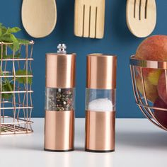 Copper Salt And Pepper Mills                                                                                                                                                                                 More
