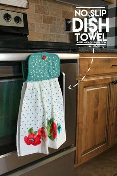 Tutorial: Easy No Slip Dish Towel