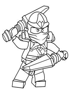 free printable ninjago coloring pages for kids | luke's ninjago 8th birthday party | lego