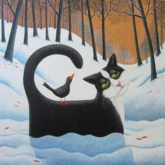 Vicky Mount | Snow Drifter by Vicky Mount