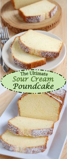 Absolutely Perfect Sour Cream Pound Cake - Baking Sense After months of research and testing I created Pound Cake Perfection. The ultimate sour cream poundcake has a lovely flavor and it melts in your mouth. Basic Pound Cake Recipe, Pound Cake Recipes, Pound Cakes, Old Fashioned Butter Pound Cake Recipe, Sour Cream Cake Recipe From Scratch, Best Pound Cake Recipe Ever, Recipes Using Sour Cream, Sour Cream Desserts, Sour Cream Cookies