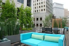 New Roof Garden at One Ecker Place, San Francisco