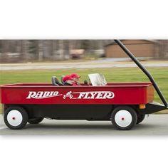 Red wagon car...Love it!