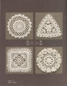 Crochet and arts: lace articles object 100 models 2013 part1