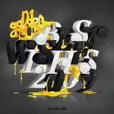 Awesome Typography Artworks by Ilk | Abduzeedo | Graphic Design Inspiration and Photoshop Tutorials