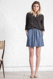 Pull On Skirt - This