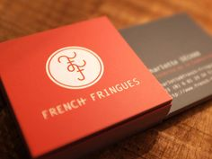 French Fringues Business Card